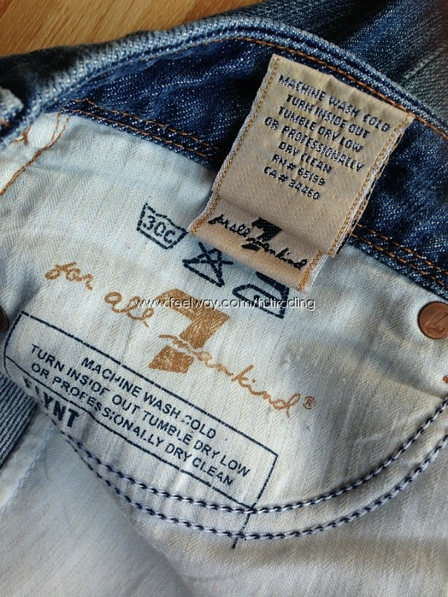 Tweet: American-Made Jeans»Serious Work Jeans»Up-Scale Jeans»More Luxury Jeans American jeans used to mean Levi, Wrangler, and Lee, to name a few. Today, Levi jeans are made overseas. Wrangler and Lee brands are owned by VF Corp., which also owns Chic Jeans.
