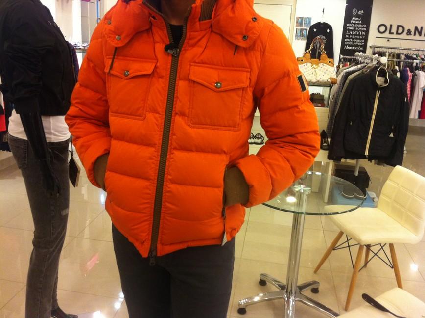 moncler fedor orange
