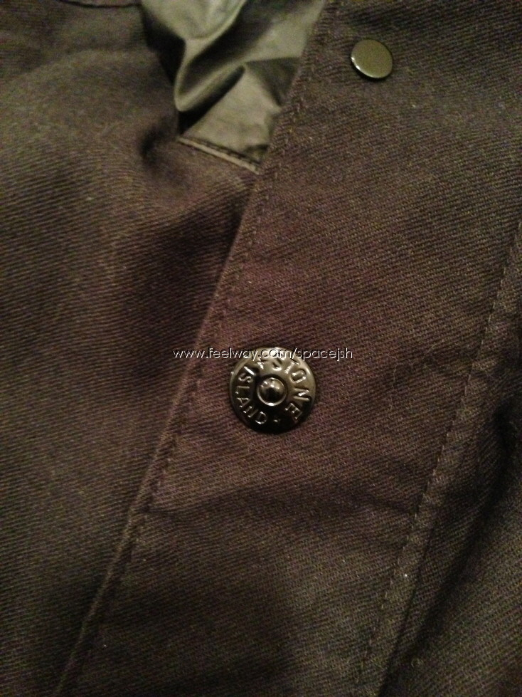 Stone Island Mil Spec Diagonal Wool Jacket