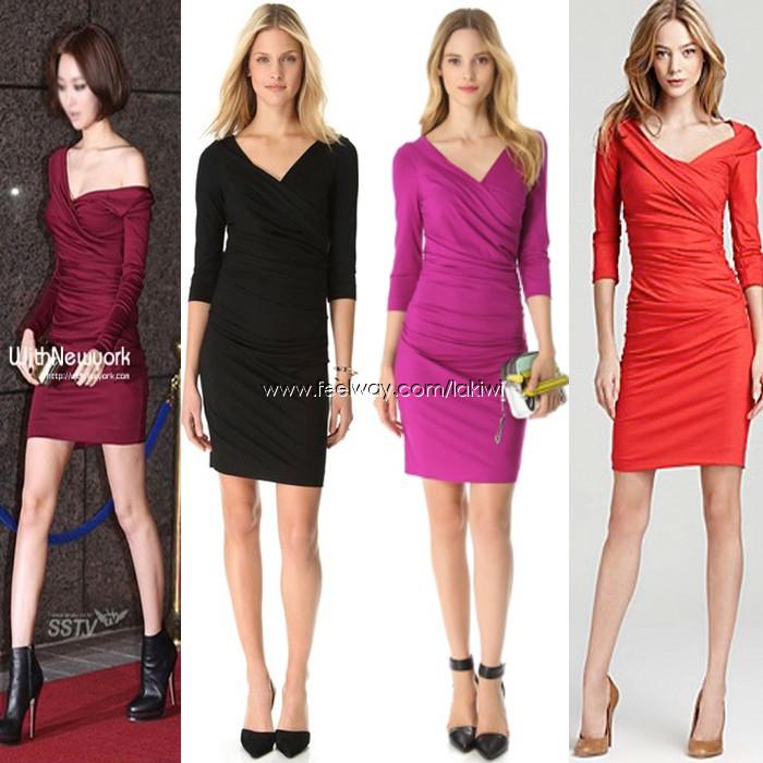 DVF 고준희 착용 벤틀리 드레스 Bentley Dress 최저가 판매 Diane Von Furstenber